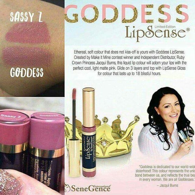 WOW!!!! New LipSense ColorGoddess! Total suprise released during the nighthellip