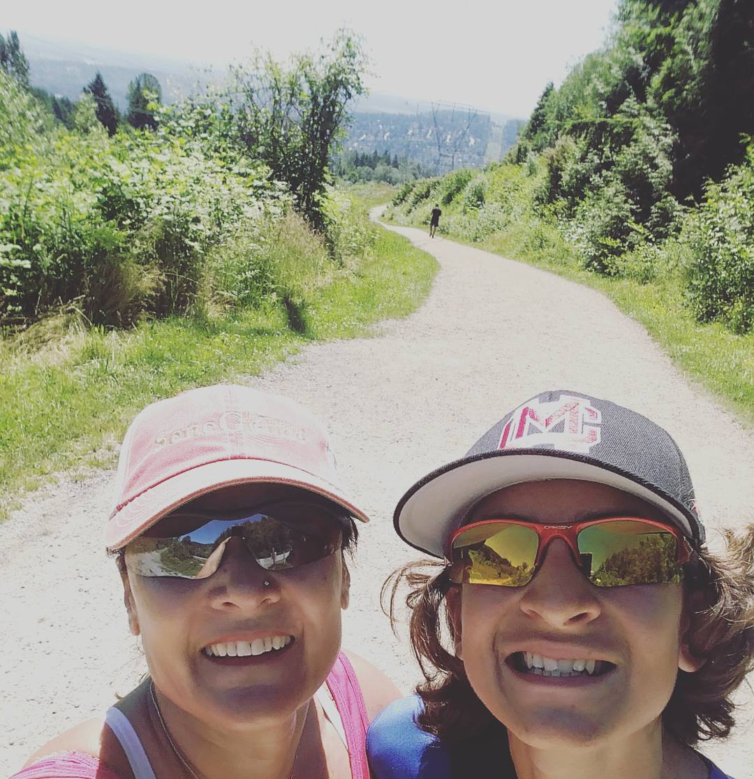 Mom and son bonding love hiking with this guy keephellip