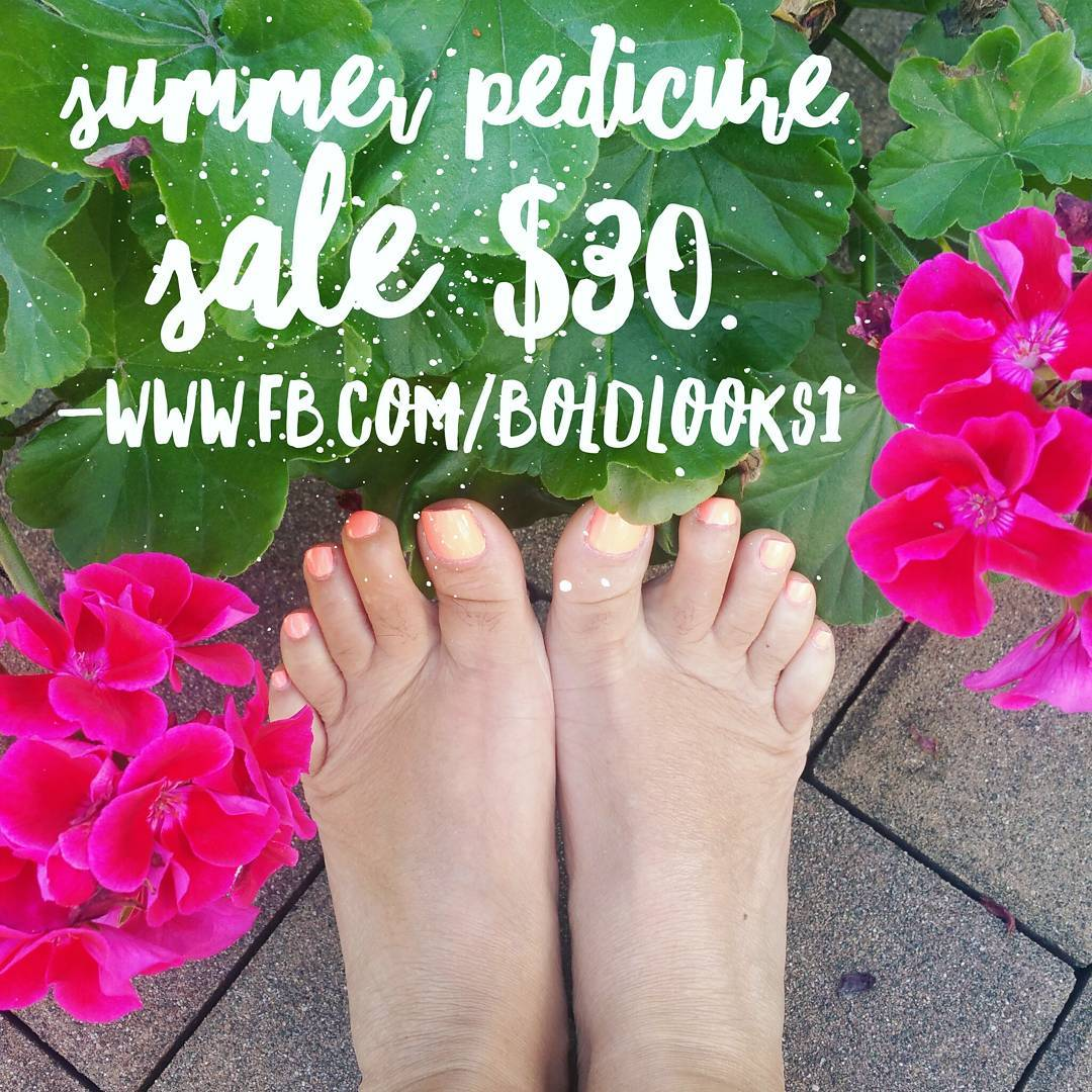Time to pamper your feet and get them ready forhellip