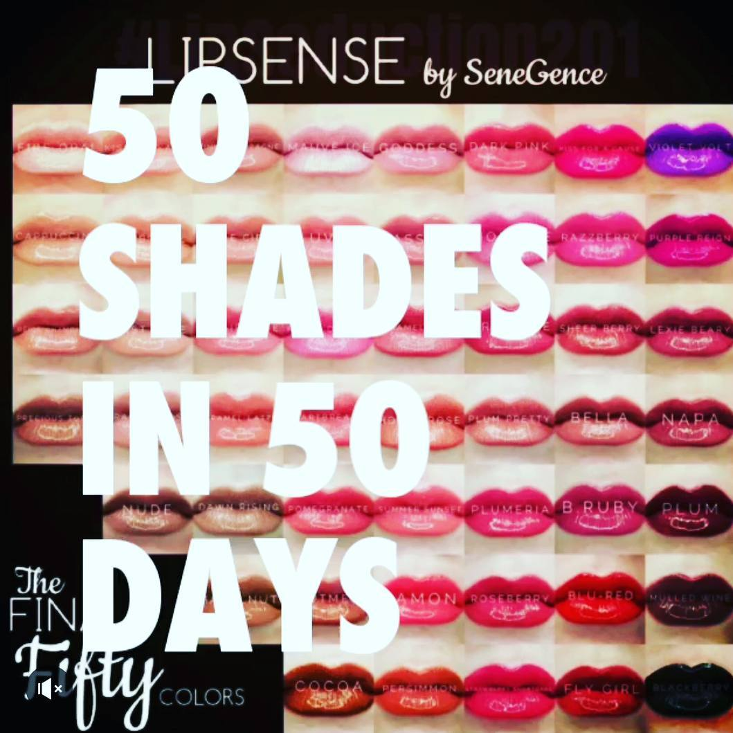So excited to launch 50 shades in 50 dsys Whathellip