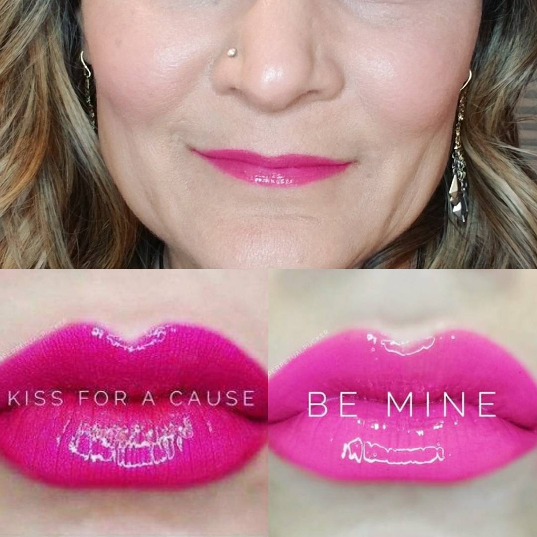 Layered combo with Kiss for a Cause a cool brighthellip